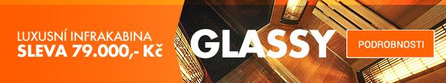 Infrakabina GLASSY za super cenu