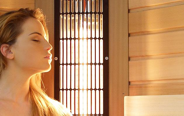 Relaxace v infrasauně redukuje stres - dopřejte si ji i vy.