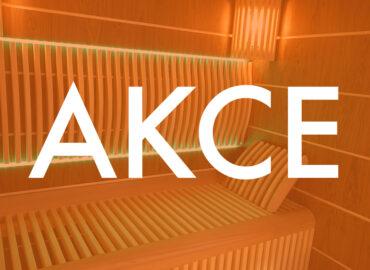 AKCE: Sauna nebo infrasauna za zvýhodněnou cenu!