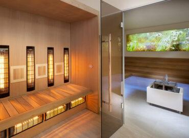 Atypická realizace sauny a infrasauny ve Františkových lázních
