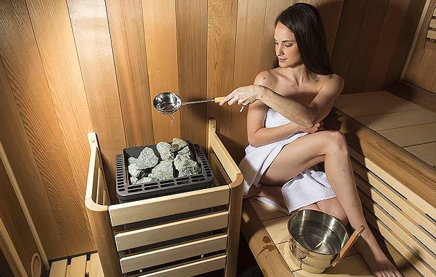 V sauně si měňte vlhkost vzduchu