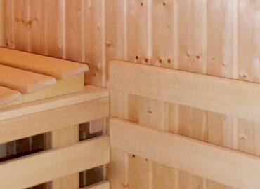Několik realizací sauny Mini – typizovaná kabina i sauna na míru
