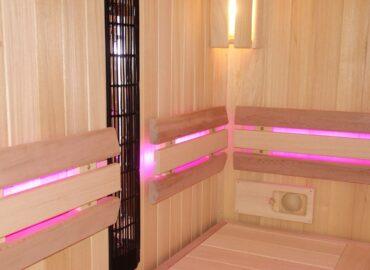 Kombinovaná sauna Modus s infrazářiči a bio saunou