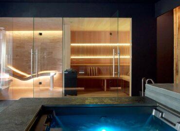 Naše nejluxusnější sauna Future v domácím wellness v Troji