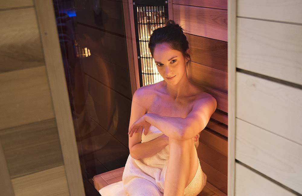 Buďte krásná díky pravidelnému saunování v infrakabině.