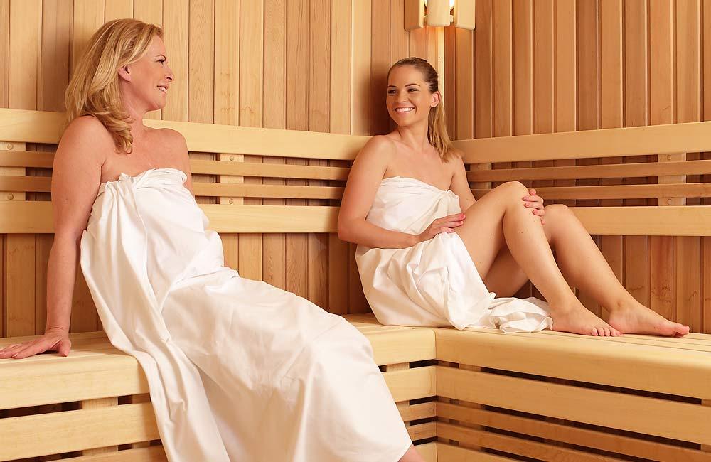 Saunování je dostupné všem generacím, saunovat se mohou i děti