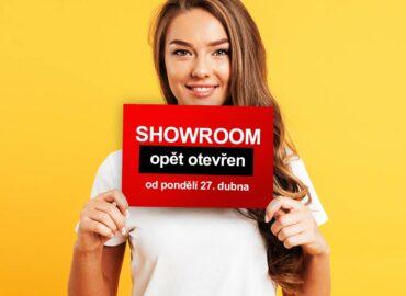 Skvělá zpráva: Showroom je opět otevřen!