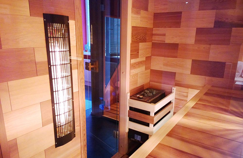 Proměňte svoji finskou saunu na saunu kombinovanou