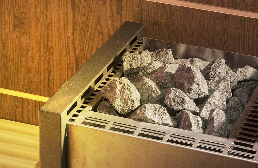 Saunové kameny pravidelně čistěte a kontrolujte