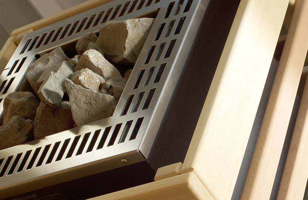 Saunové kameny a jejich využití v sauně