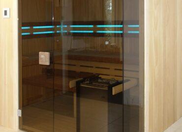 Sauna Modus: prosklený roh jí opravdu sluší