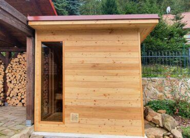 Venkovní sauna Native – dokonalý odpočinek i na chalupě