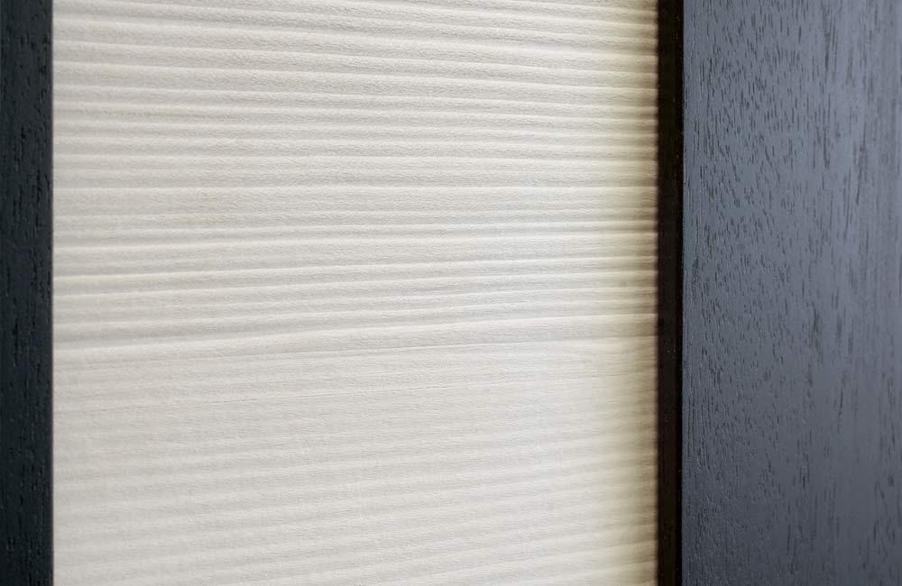 Speciální desky Saunaboard v bílé a černé barvě