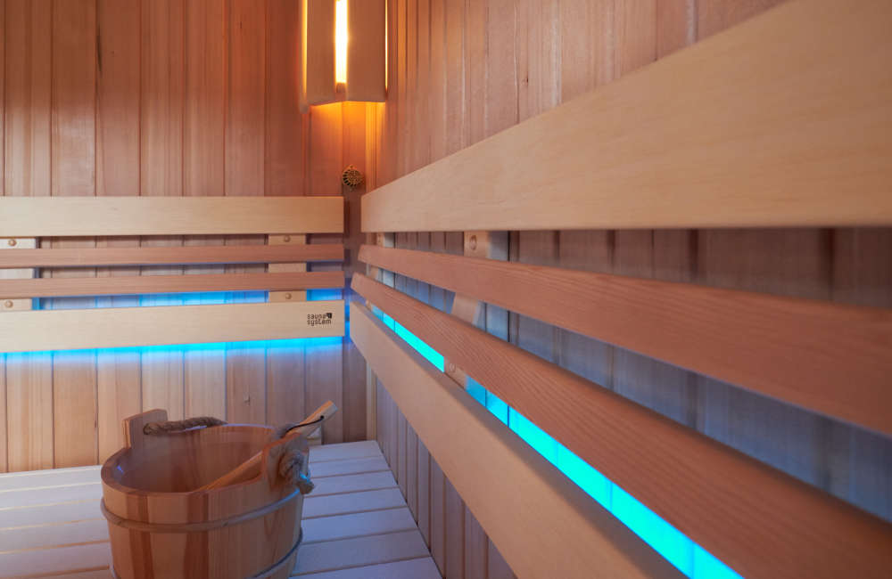 Tenistka Lucie Hradecká a její sauna Native
