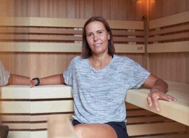 Proč si tenistka Lucie Hradecká pořídila venkovní saunu? – video