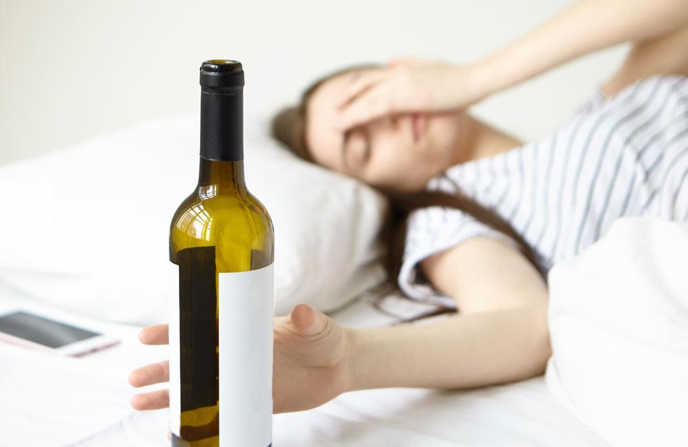 Alkohol do sauny nepatří